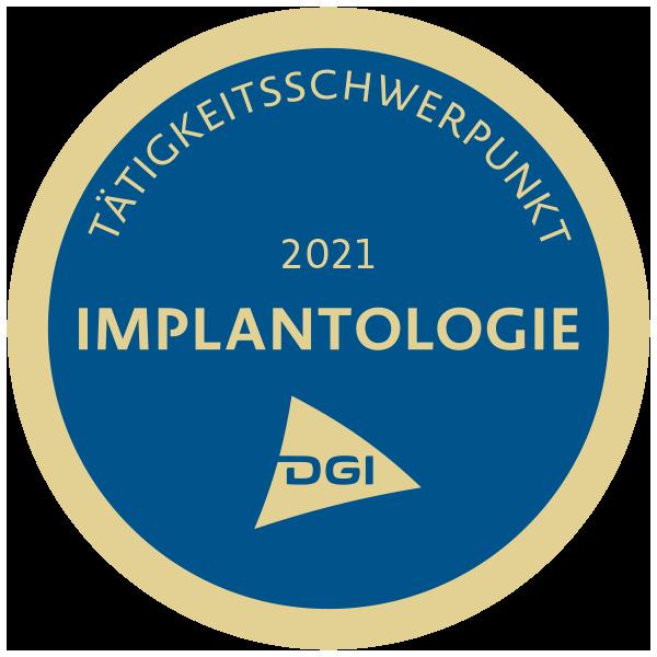 Mitgliedschaft beim DGI Implantologie